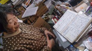 店内に残っていた帳簿には凄い数の注文数が記録されていました。
